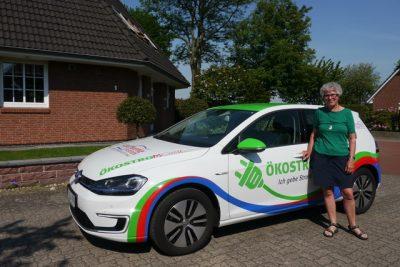 Anne Horstmann aus Oyten mit ihrem Gewinn