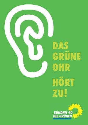 Das Grüne Ohr hört zu