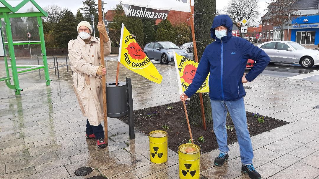 Sie ist wieder da – Fukushima Gedenktag